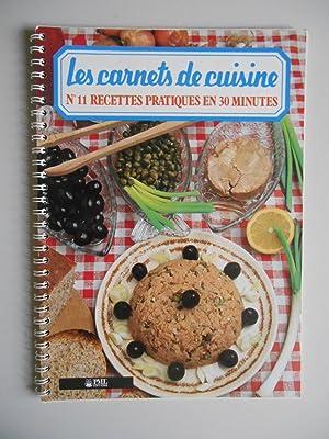 Les carnets de cuisine recettes pratiques en: Collectif