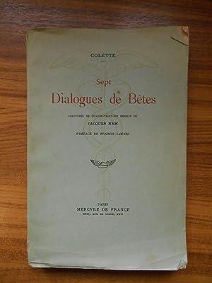 Sept dialogues de Bêtes / Colette /: Colette