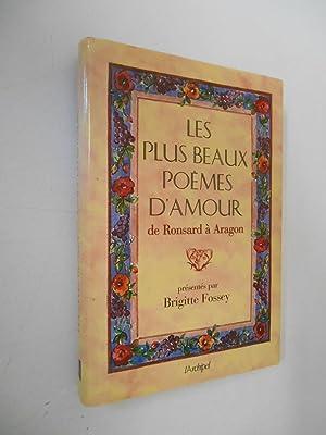 9782841871001 Les Plus Beaux Poèmes Damour De Ronsard à