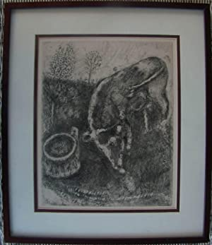 Original Dry Point Etching for