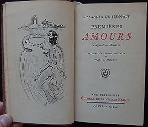Casanova - Premières amours - Illustrated with: Casanova de Seingalt