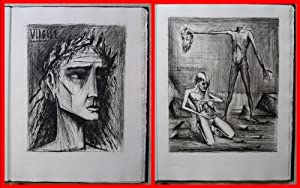 L'Enfer - Illustrated with 11 Etchings By Bernard Buffet # HANDSIGNED