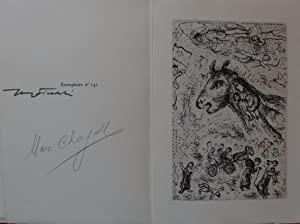 Lettre à Marc Chagall - Illustrated with: Jerzy FICOWSKI