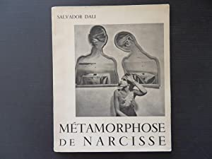 Metamorphose de Narcisse - illustrated by DALI: Salvador DALI
