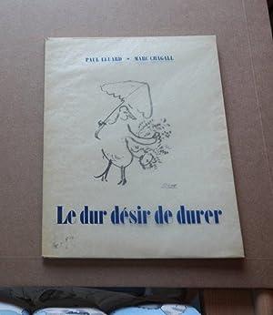 Le Dur Désir De Durer - 1st: Paul Eluard
