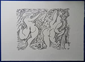 Dessins Erotiques / Terre Erotique - Illustré de 20 lithographies originales d'...