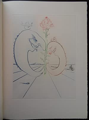 Babaouo - DELUXE COPY illustrated with an: Salvador DALI