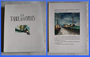 Table Aux Crevés - ILLUSTRATED with 31 Orig Woodcuts By VLAMINCK