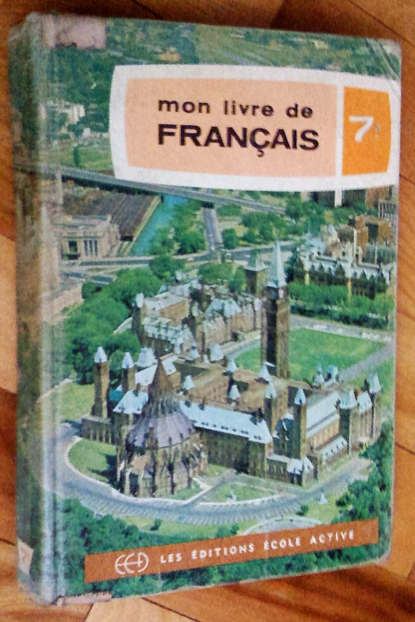 Mon Livre De Francais Septieme Annee