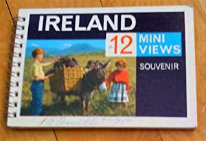 Ireland, 12 mini views. Souvenir