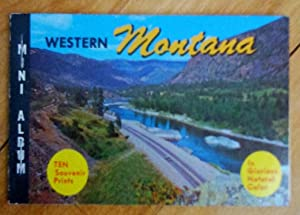 Mini Album. Western Montana: Ten Souvenir prints In Glorious Natural Color