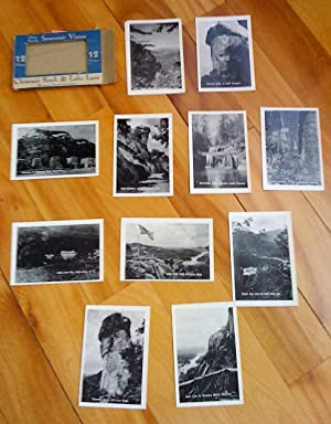 Chimney Rock & Lake Lure, Western North Carolina: 12 views. Gloss Finish. Souvenir Views