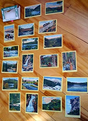 White Mountains: 20 Colored Views. Souvenir Views