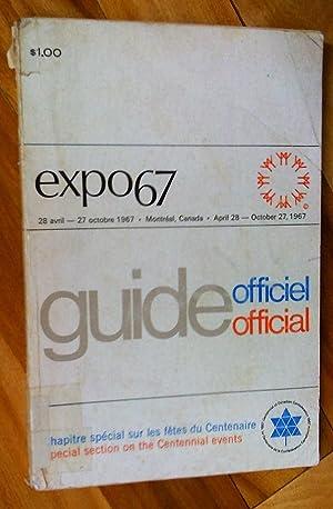 Guide officiel - official Expo 67. Chapitre