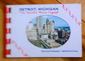 Detroit, Michigan: «The World's Motor Capital». Ten Plastichrome Reproductions