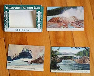 Yellowstone National Park: 20 colored miniatures, series A
