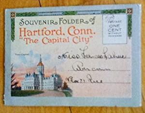 Souvenir Folder of Hartford, Conn. «The Capital City»