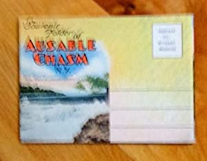 Souvenir Folder of Ausable Chasm, N.Y. (18 photos en accordéon)