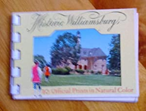 Historic Williamsburg: 10 Official Prints in natural Color