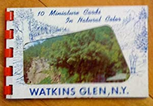 Watkins Glen, N. Y.: 10 Miniature Cards in Natural Color