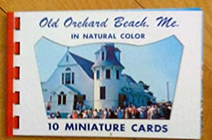 Old Orchard Beach. Me.: 10 Miniature Cards in natural color