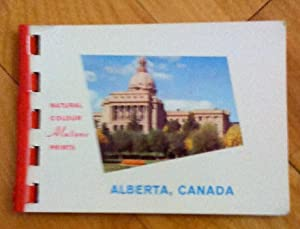Alberta, Canada: natural color Alutone prints