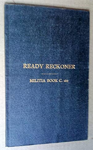 Ready Reckoner for use by The Canadian: Biggar, J. Lyons