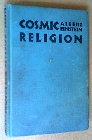 Cosmic Religion, With Other Opinions And Aphorisms