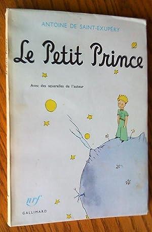 Le Petit Prince, avec des aquarelles de: Saint-Exupéry, Antoine de