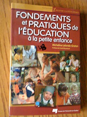 Fondements et pratiques de l'education a la: Lalonde-Graton, Micheline