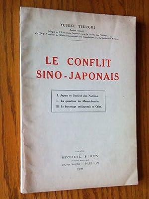 Le Conflit sino-japonais. I: Japon et Société: Tsurumi, Yusuke