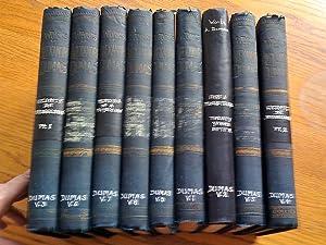 The Works of Alexandere Dumas Volume 1-9: Dumas, Alexandre