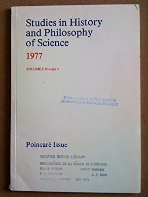 Studies in History and Philosophy of Science - volume 8, number 4 - 1977