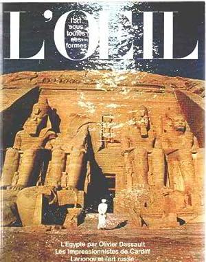 Revue l'oeil n° 287 / l'egypte par: Collectif