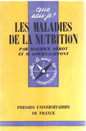 Les maladies de la nutrition: Derot Maurice /