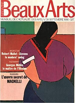 Magazine beaux arts n° 38 / robert: Collectif