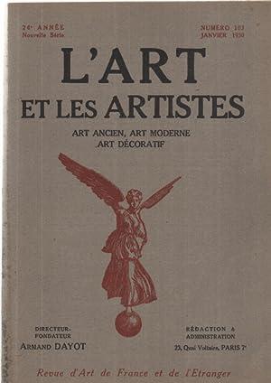 L'art et les artistes n°103: Dayot Armand