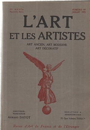 L'art et les artistes n°99: Dayot Armand