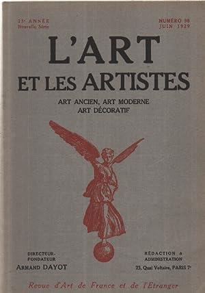L'art et les artistes n°98: Dayot Armand