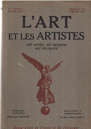 L'art et les artistes n°73: Dayot Armand