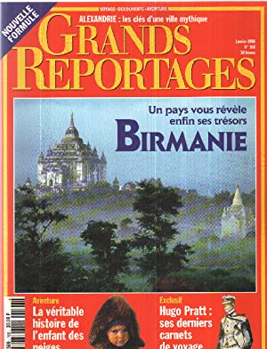 Grands reportages n° 168 / birmanie