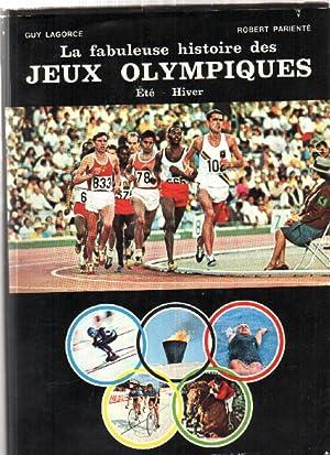 La fabuleuse histoire des jeux olympiques /: Lagorce Guy /