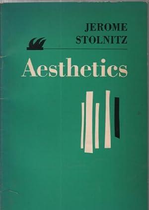 Aesthetics: Stolnitz Jerome