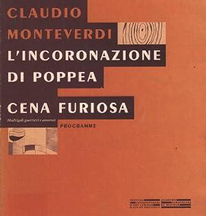 L'incoronazione di poppea cena furiosa: Monteverdi Claudio