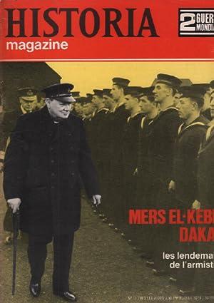 2ème guerre mondiale / historia magazine n° 11 mers el-kebir dakar: Collectif
