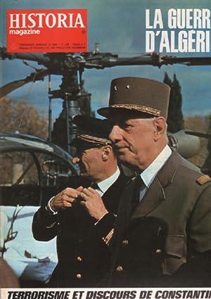 La guerre d'algérie / historia magazine n°: Collectif