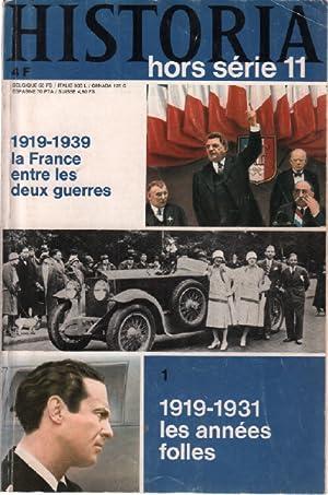 Historia hors série n° 11 / 1919-1939: Collectif