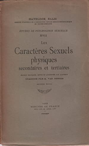 Etudes de psychologie sexuelle XVII / les: Ellis Havelock