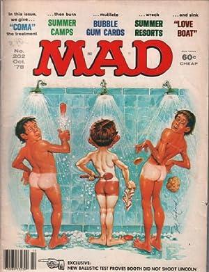 Magazine Mad n° 202