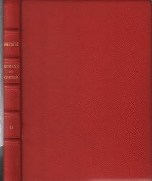 Contes et romans / tome 2 seul: Voltaire
